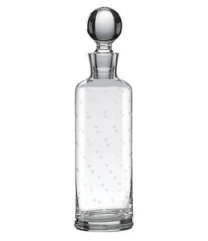 kate spade new york Larabee Dot Crystal Decanter