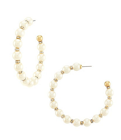 kate spade new york Large Hoop Earrings