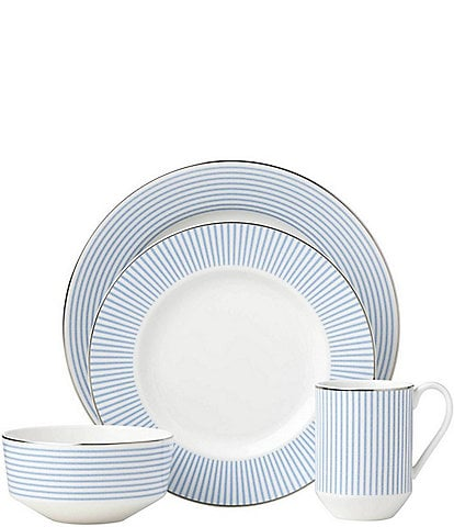 kate spade new york Laurel Street Porcelain 4-Piece Place Setting