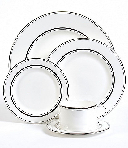 kate spade new york Library Lane Platinum 5-Piece Place Setting