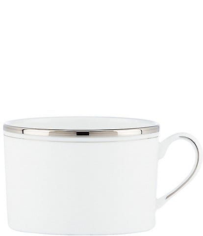 kate spade new york Library Lane Platinum-Striped Cup