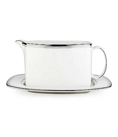 kate spade new york Library Lane Sauce Boat & Stand