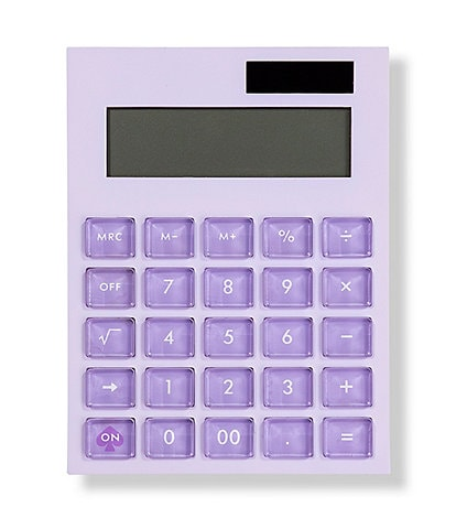 kate spade new york Lilac Color Block Calculator