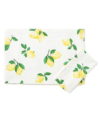 kate spade new york Make Lemonade Table Linens