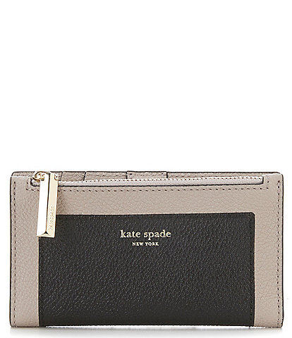 kate spade new york Margaux Colorblock Small Slim Bifold Wallet