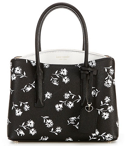 kate spade new york Margaux Dandelion Floral Medium Satchel Bag