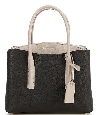 kate spade new york Margaux Leather Zip Colorblock Medium Satchel Bag
