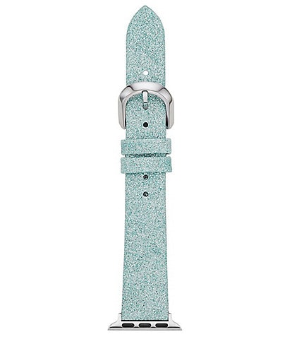 kate spade new york Mermaid Glitter Leather 38/40mm Band for Apple Watch®