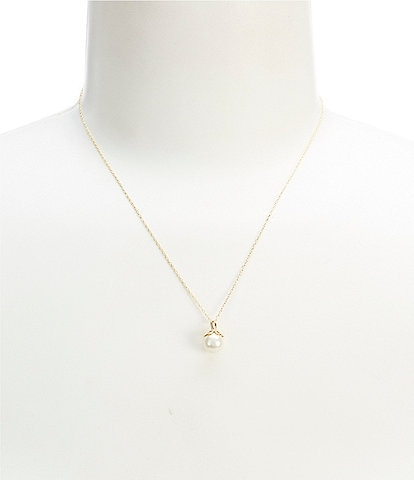kate spade new york Mini Pearl Pendant Necklace