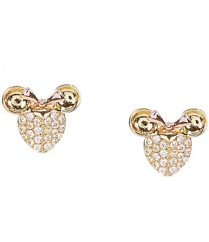 kate spade new york Minnie Pave Stud Earrings