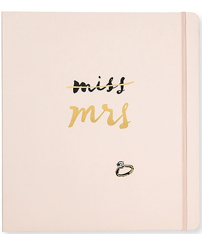 kate spade new york Miss to Mrs. Bridal Planner