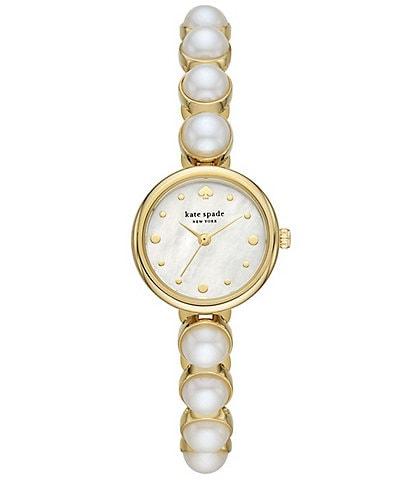 kate spade new york Monroe Pearl Bracelet Watch