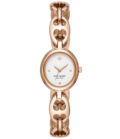 kate spade new york Monroe Rose Gold-Tone Stainless Steel Watch