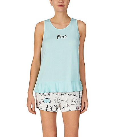 kate spade new york Mrs. Knit Tank And Short Set
