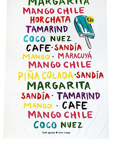 kate spade new york Outdoor Living Collection Flavors Beach Towel