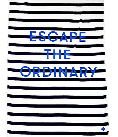 kate spade new york Outdoor Living Collection Escape Beach Towel