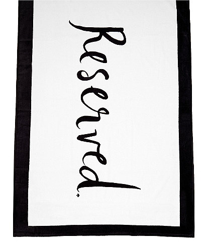 kate spade new york Outdoor Living Collection Reserved Beach Towel