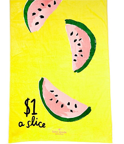 kate spade new york Outdoor Living Collection Watermelon Beach Towel
