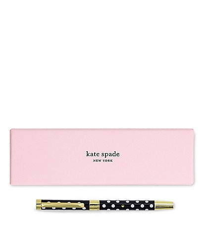 kate spade new york Polka Dot Ballpoint Pen