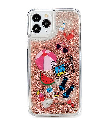 kate spade new york Pool Party Liquid Glitter iPhone 11 Case