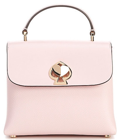 kate spade new york Romy Mini Top Handle Pebble Leather Crossbody Bag