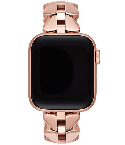 kate spade new york Rose Gold-Tone Stainless Steel 38/40mm Apple Watch Band