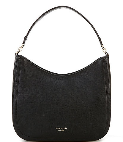 kate spade new york Pebbled Leather Roulette Large Hobo Bag