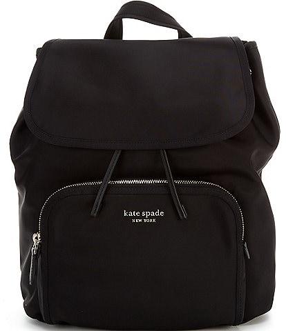 kate spade new york Sam the Little Better Nylon Medium Flap Backpack