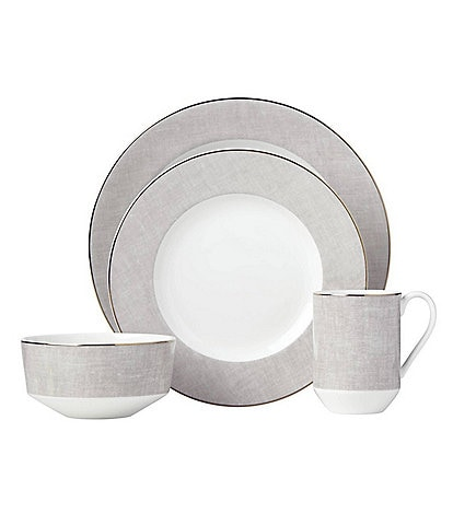 kate spade new york Savannah Street Porcelain 4-Piece Place Setting