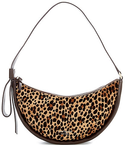 kate spade new york Smile Layers Leopard Small Shoulder Bag