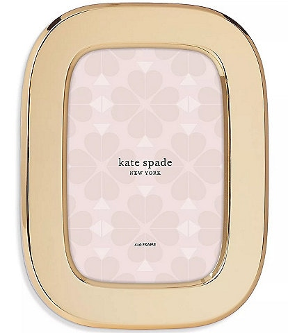 kate spade new york South Street 4x6 Oval Picture Frame
