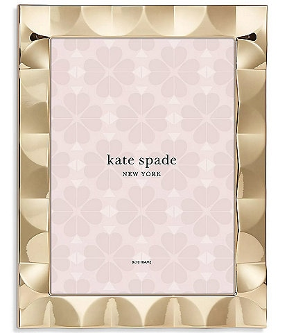 kate spade new york South Street 8x10 Scallop Picture Frame
