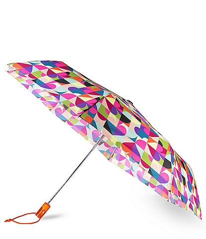kate spade new york Spade Dot Geo Travel Umbrella