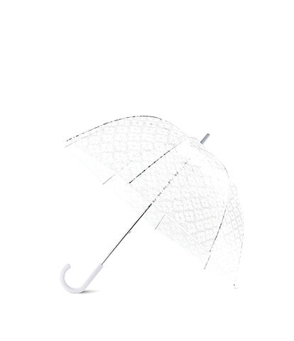 kate spade new york Spade Flower Clear Umbrella