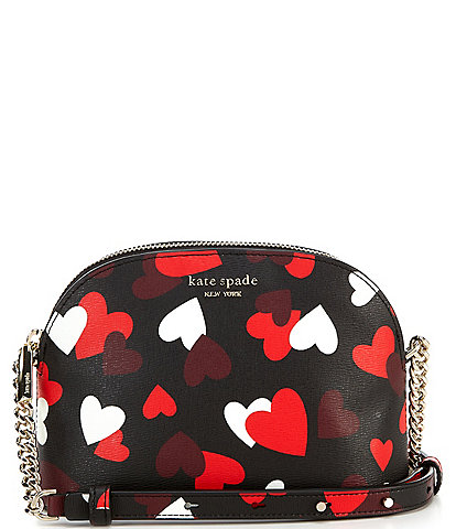 kate spade new york Spencer Celebrations Hearts Small Dome Crossbody Bag