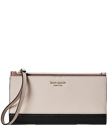kate spade new york Spencer Colorblock Continental Wristlet