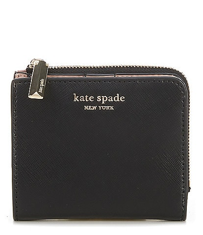 kate spade new york Spencer Leather Small Bi-Fold Wallet