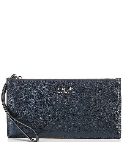 kate spade new york Spencer Metallic Phone Wristlet
