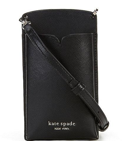 kate spade new york Spencer Saffiano Leather Slim Crossbody Bag