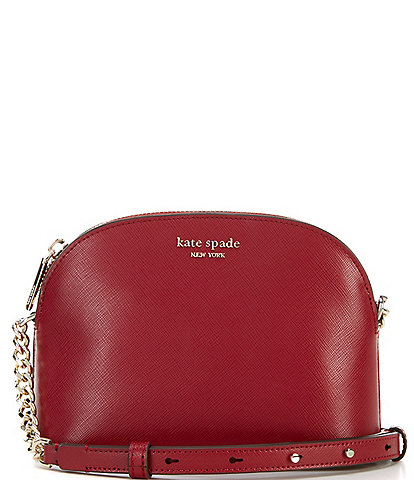kate spade new york Spencer Small Leather Domed Crossbody Bag