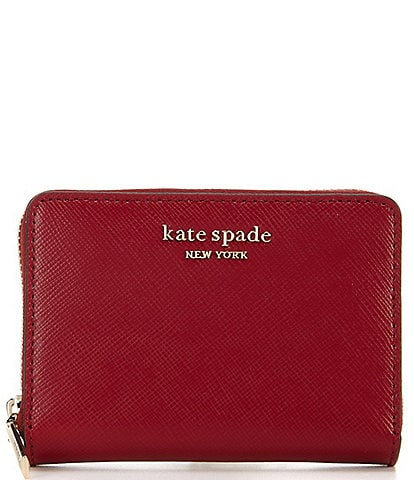 kate spade new york Spencer Saffiano Leather Zip Card Case