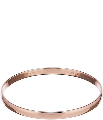 kate spade new york Stop And Smell The Roses Bangle Bracelet