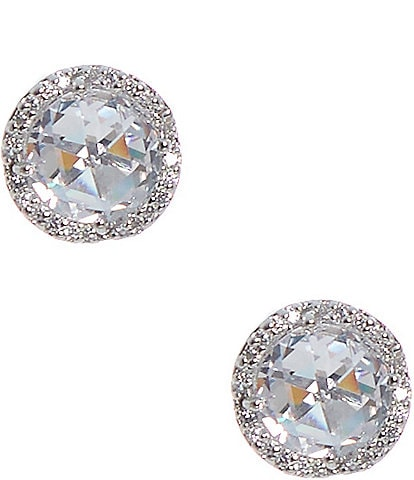kate spade new york That Sparkle Pave Round Large Stud Earrings