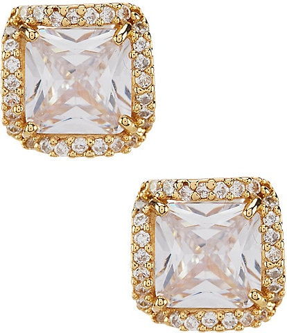 kate spade new york That Sparkle Princess Cut Stud Earrings