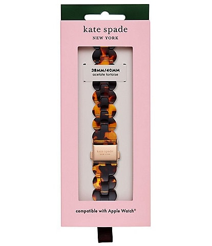 kate spade new york Tortoise Acetate 38/40mm Band for Apple Watch®