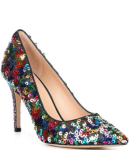 kate spade new york Valerie Multicolor Sequin Pumps