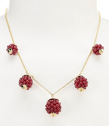kate spade new york Very Berry Necklace