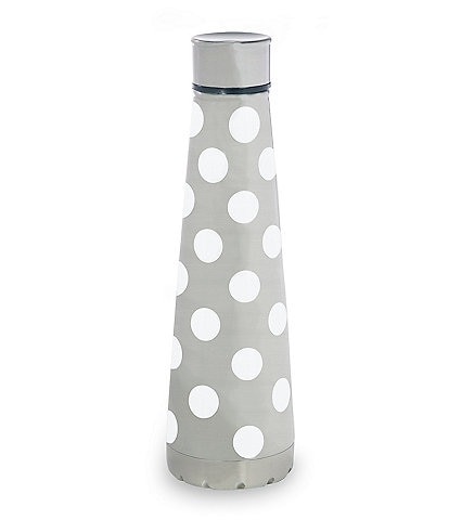 kate spade new york White Dot Stainless Steel Water Bottle