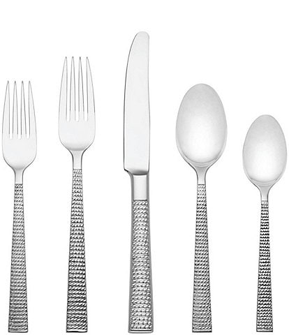 kate spade new york Wickford 5-Piece Stainless Steel Flatware Set