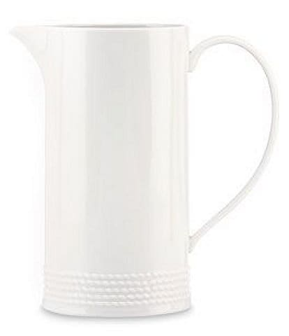 kate spade new york Wickford Rope-Embossed Porcelain Pitcher